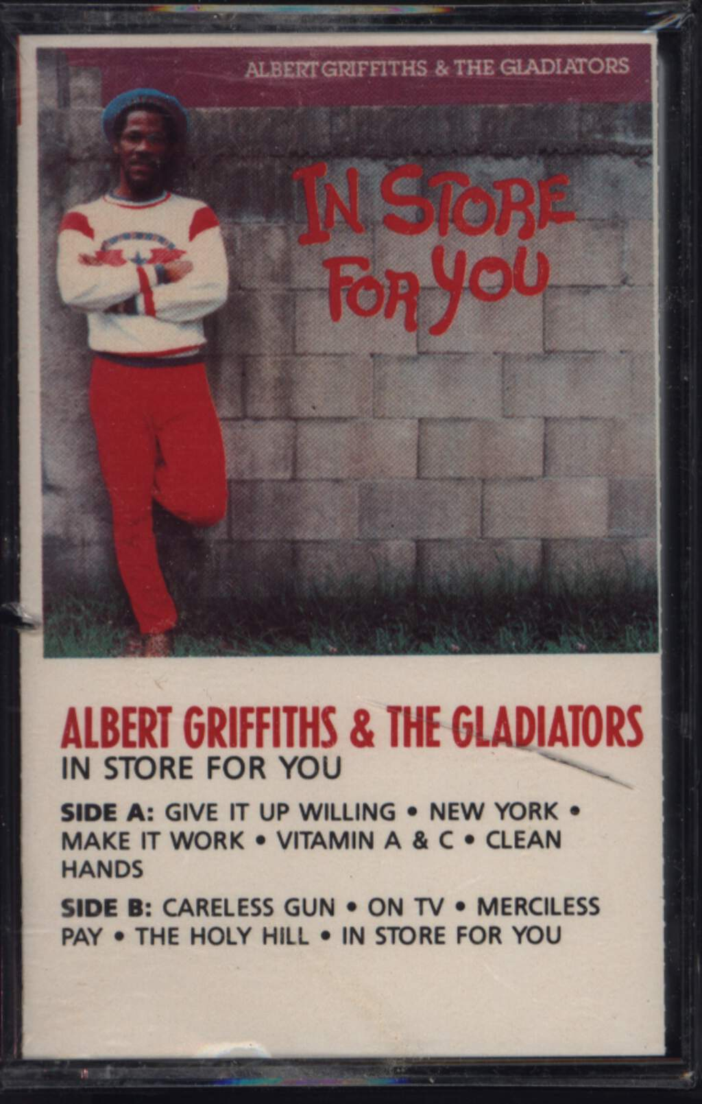 Albert Griffiths: In Store For You, Compact Cassette