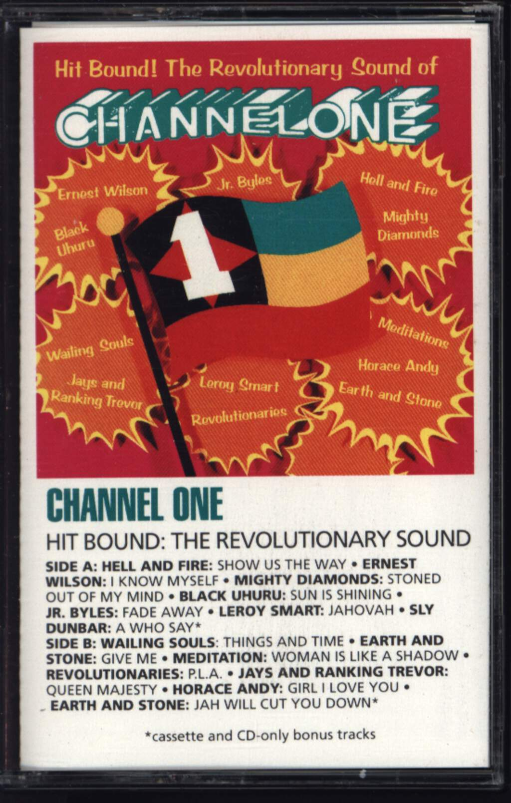 Various: Hit Bound! The Revolutionary Sound Of Channel One, Compact Cassette
