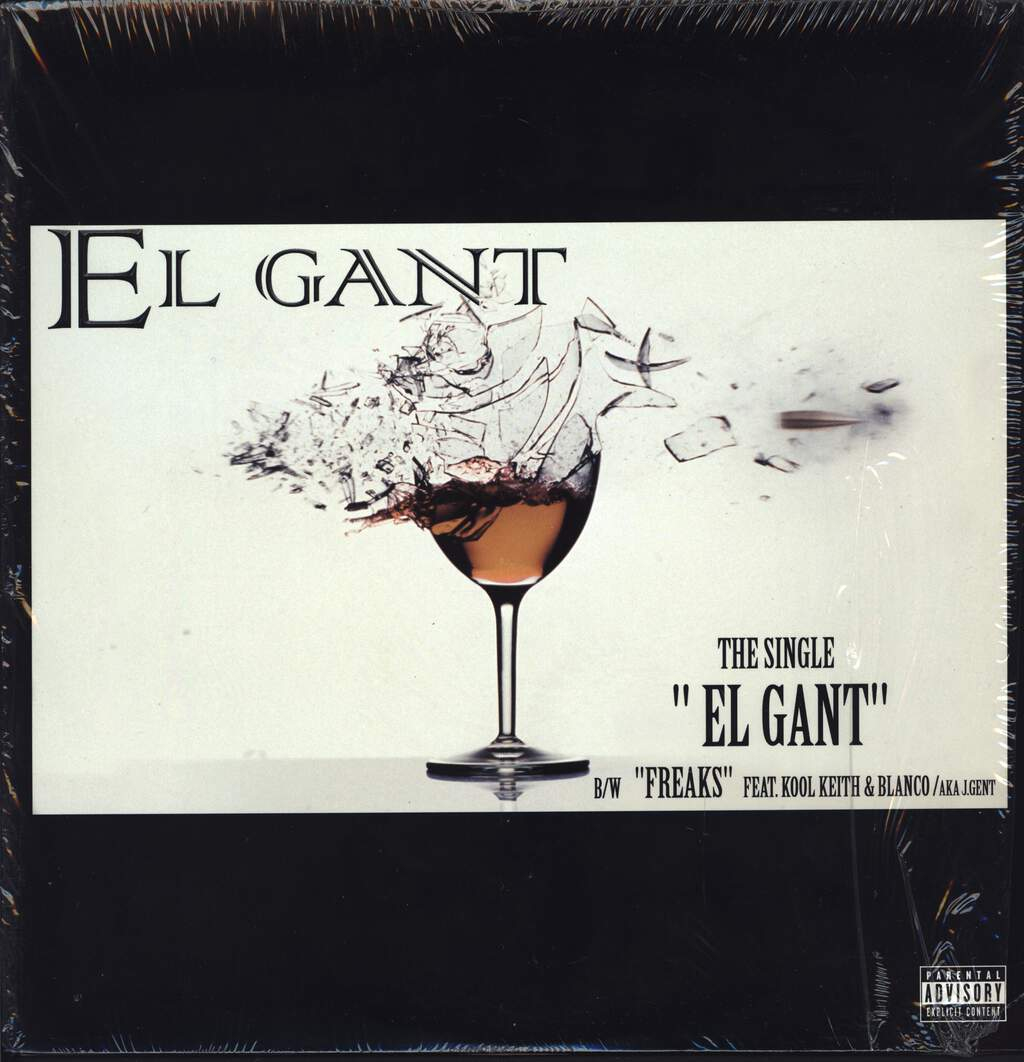 "El Gant: El Gant, 12"" Maxi Single (Vinyl)"