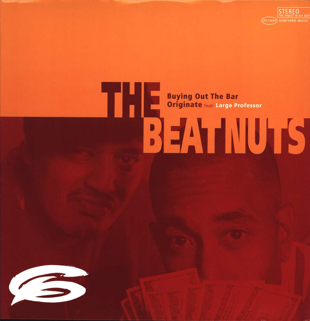 "The Beatnuts: Buying Out The Bar / Originate, 12"" Maxi Single (Vinyl)"