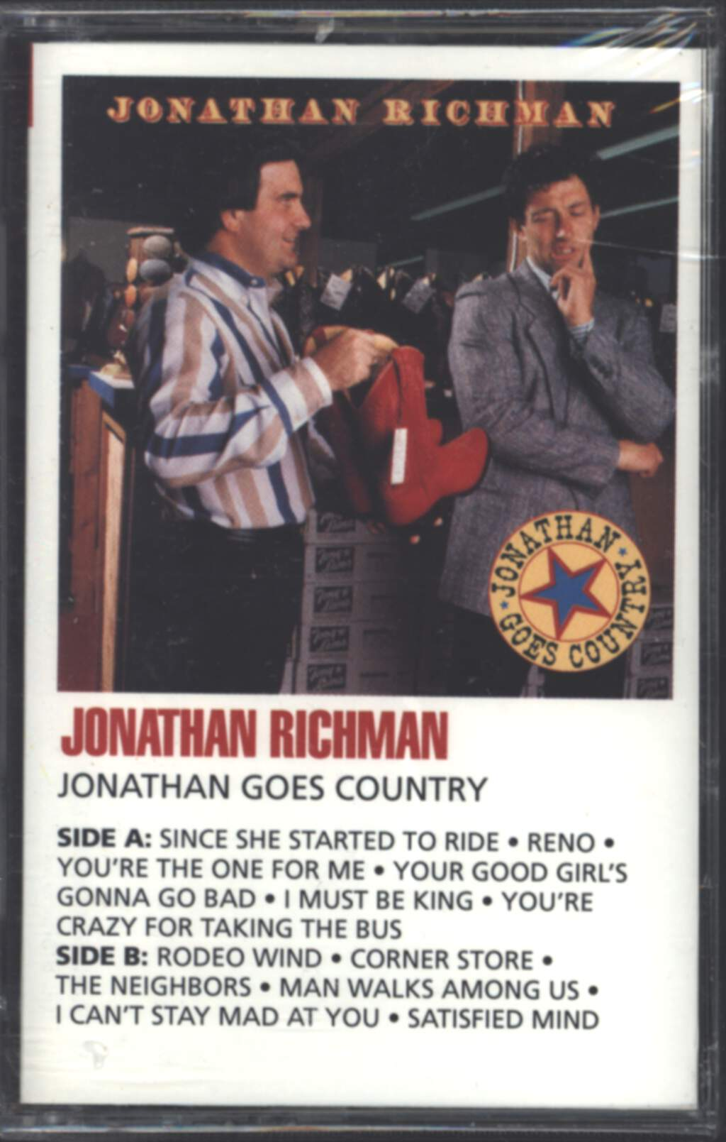 Jonathan Richman: Jonathan Goes Country, Compact Cassette