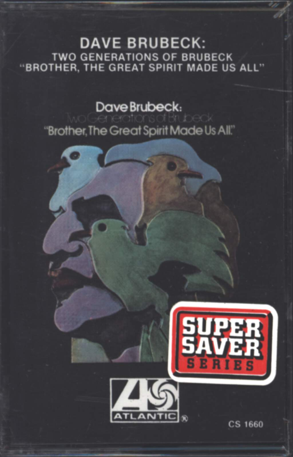 "Dave Brubeck: Two Generations Of Brubeck "" Brother, The Great Spirit Made Us All""., Tape"
