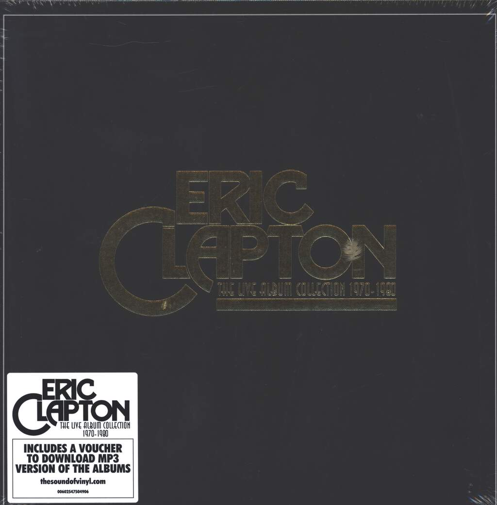Eric Clapton: The Live Album Collection 1970-1980, LP (Vinyl)