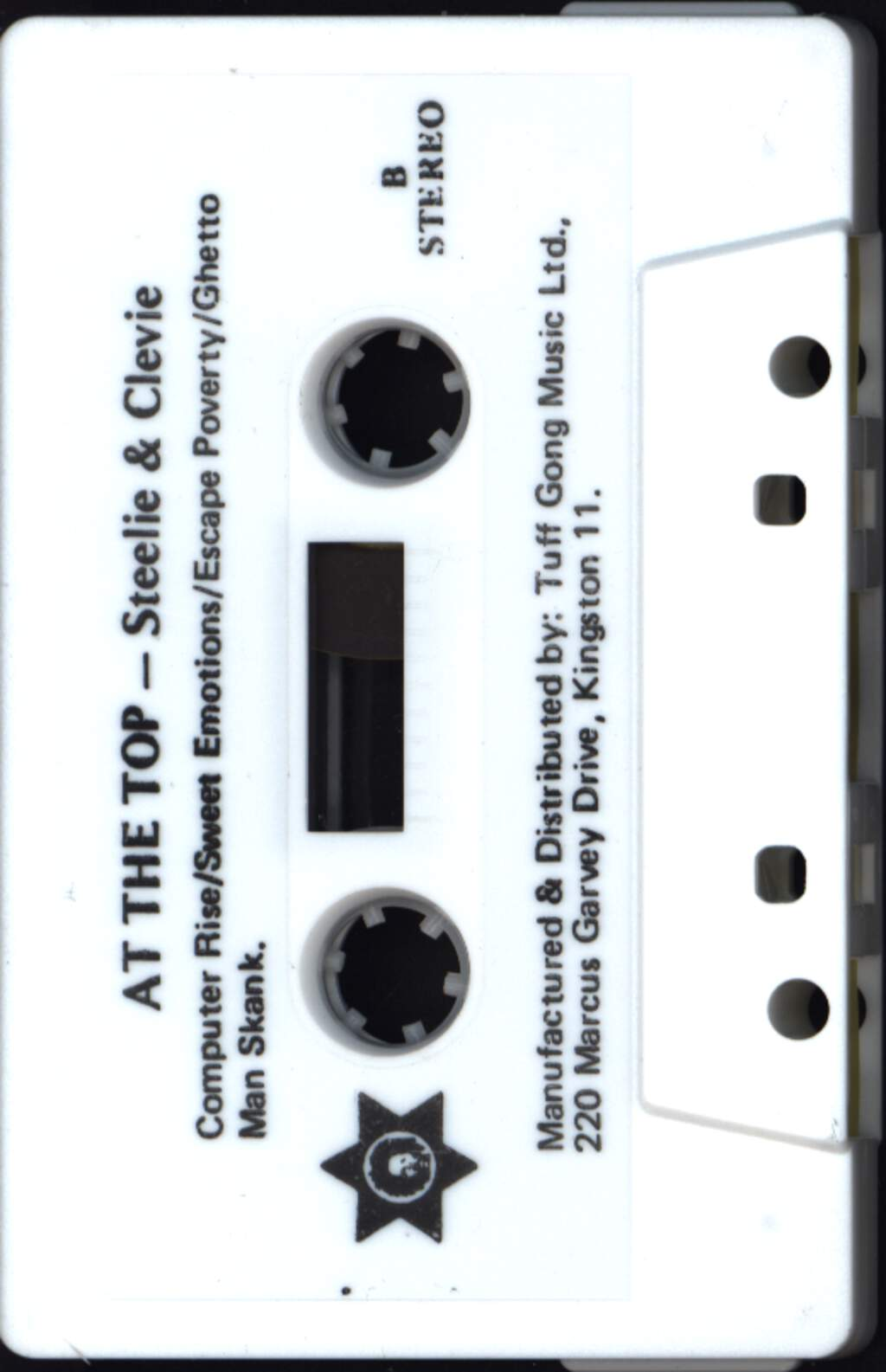 Steely & Clevie: At The Top, Compact Cassette
