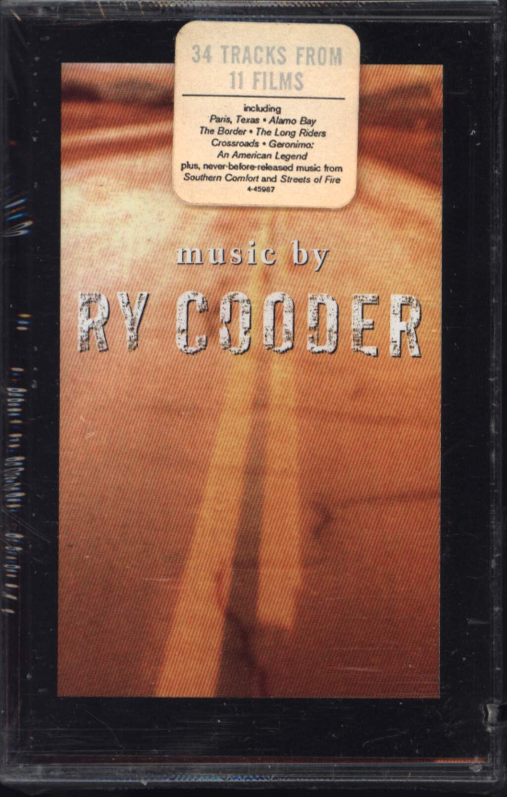 Ry Cooder: Music By Ry Cooder, Compact Cassette