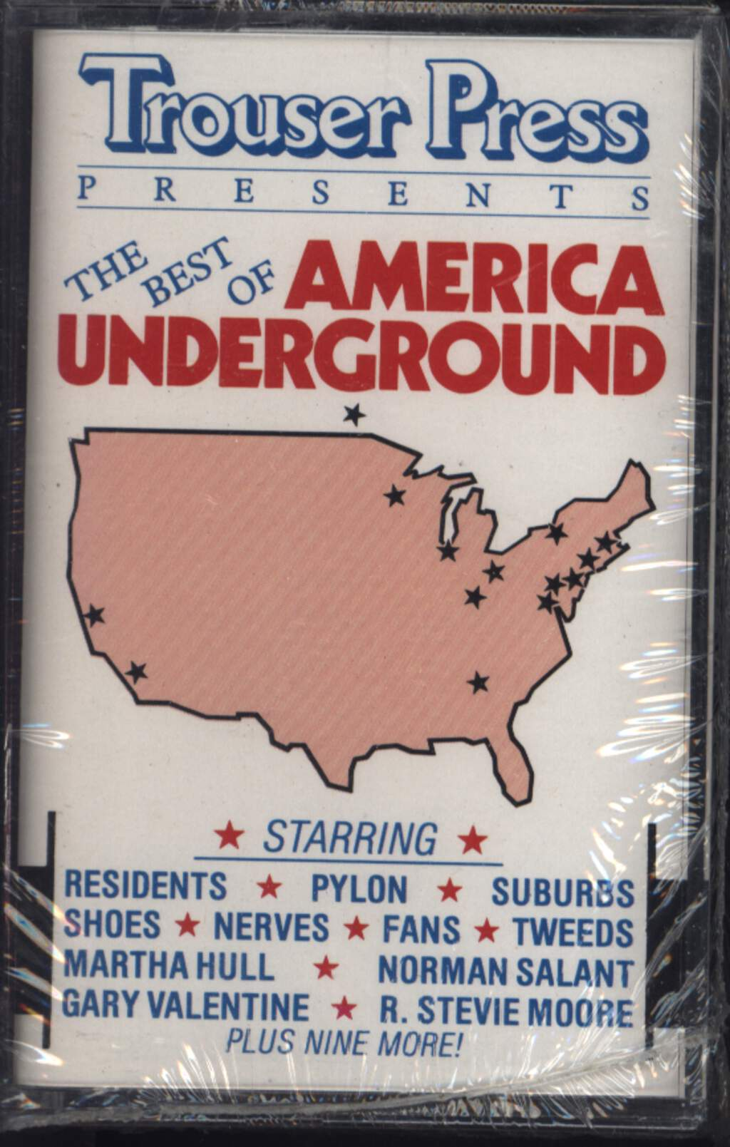 Various: Trouser Press Presents The Best Of America Underground, Compact Cassette