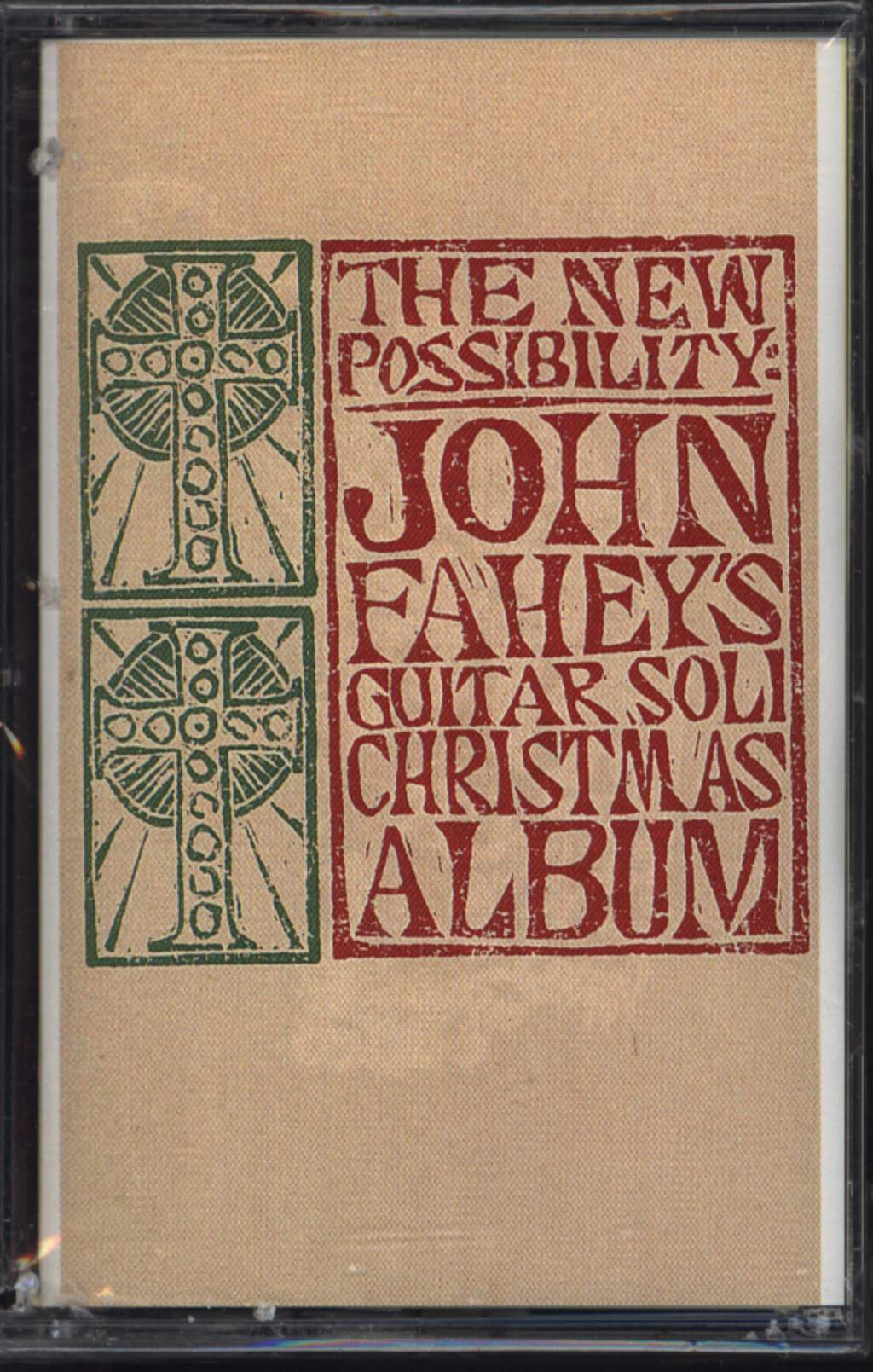 John Fahey: The New Possibility: John Fahey's Guitar Soli Christmas Album/Christmas With John Fahey Vol. II, Compact Cassette