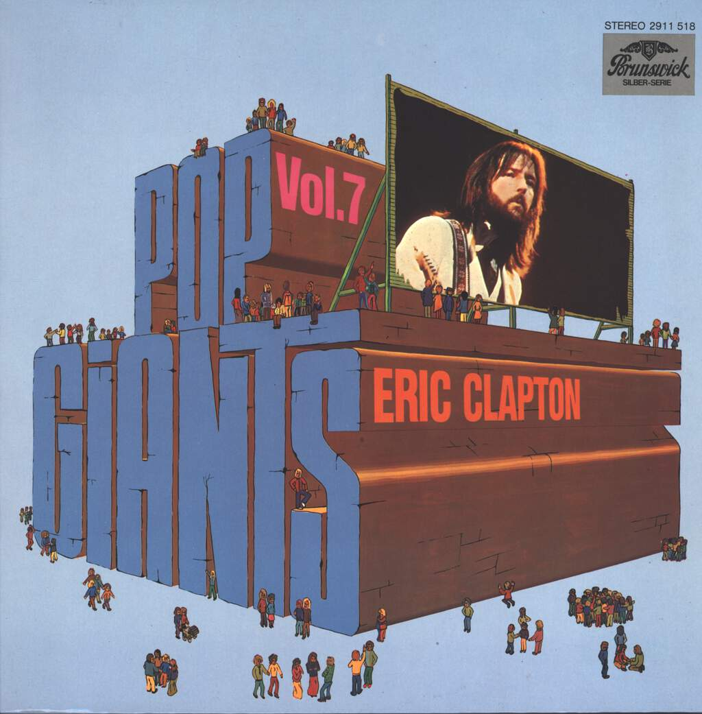 Eric Clapton: Pop Giants, Vol. 7, LP (Vinyl)
