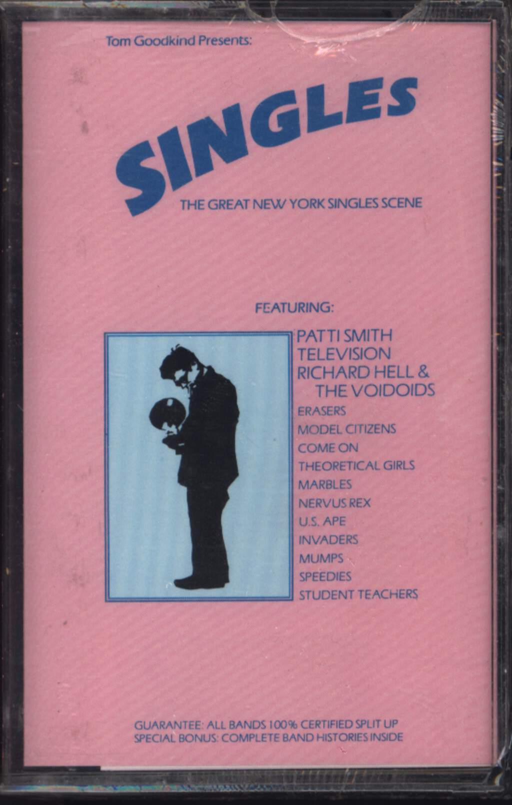 Various: Singles: The Great New York Singles Scene, Compact Cassette