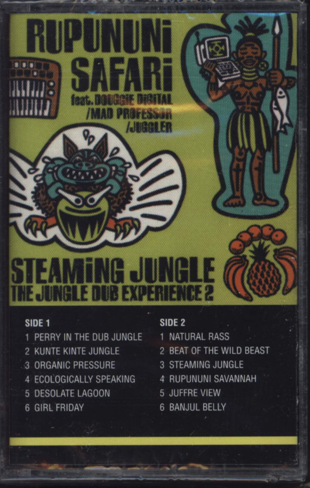 Rupununi Safari: Steaming Jungle (The Jungle Dub Experience 2), Compact Cassette