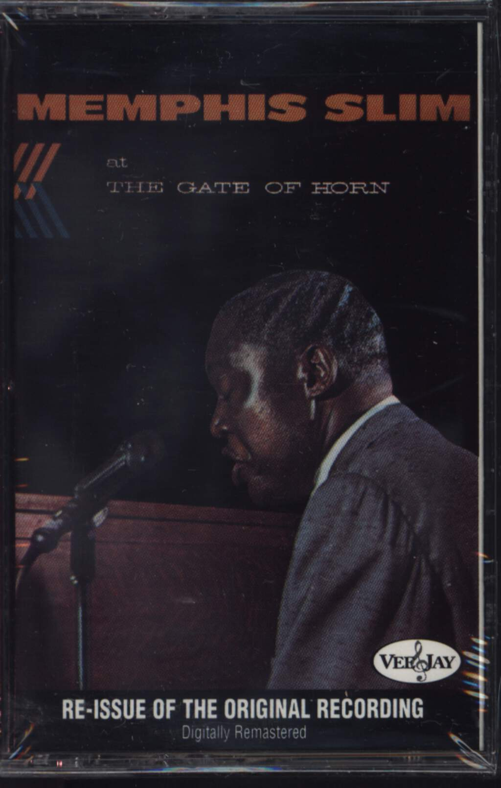 Memphis Slim: Memphis Slim At The Gate Of Horn, Compact Cassette
