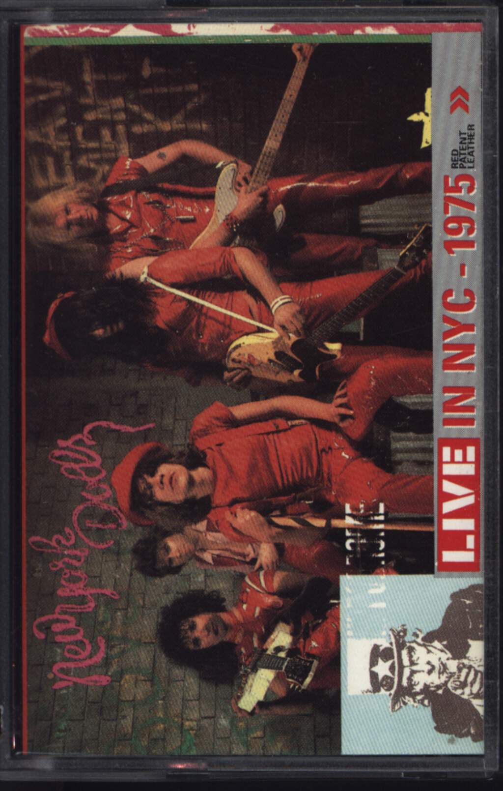 New York Dolls: Live In NYC - 1975 Red Patent Leather, Compact Cassette