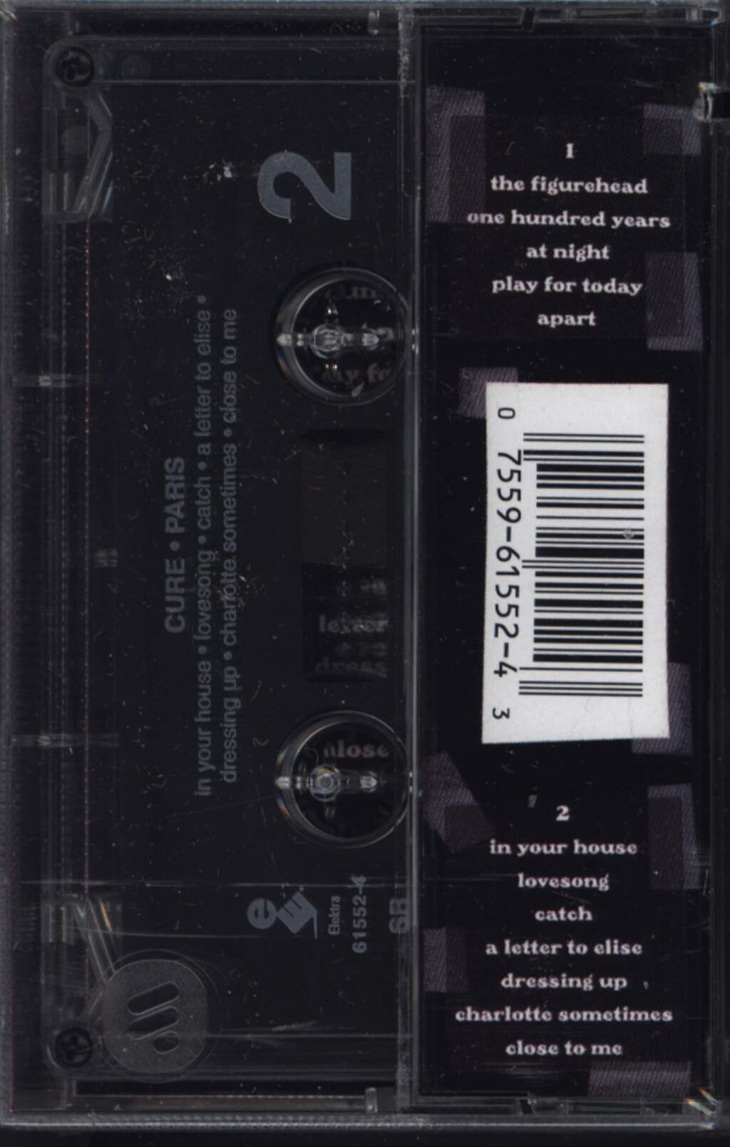 The Cure: Paris, Compact Cassette