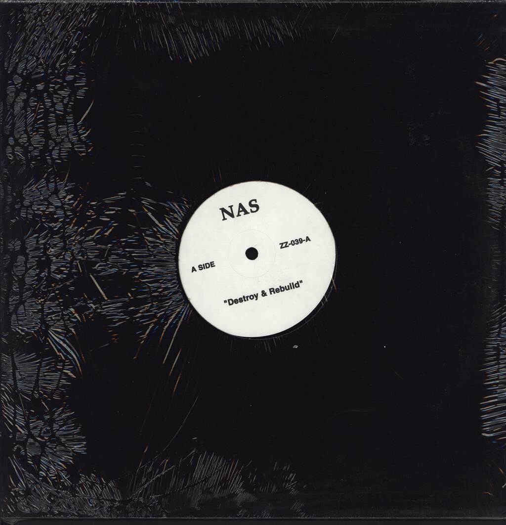 "Nas: Destroy & Rebuild / Hot 97 Interview, 12"" Maxi Single (Vinyl)"