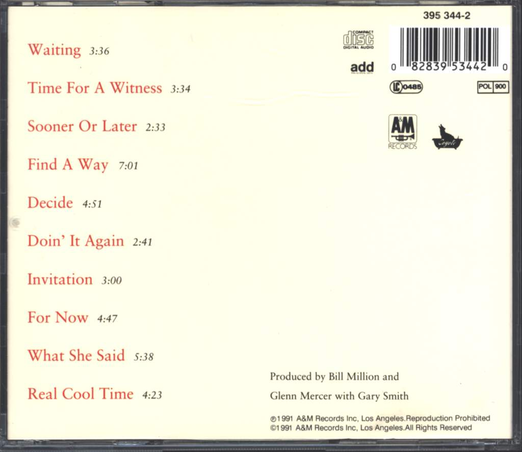 The Feelies: Time For A Witness, CD