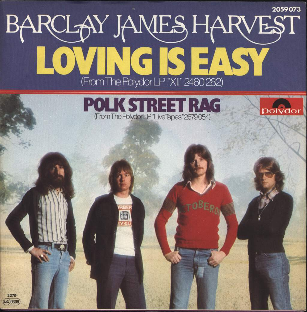 "Barclay James Harvest: Loving Is Easy, 7"" Single (Vinyl)"