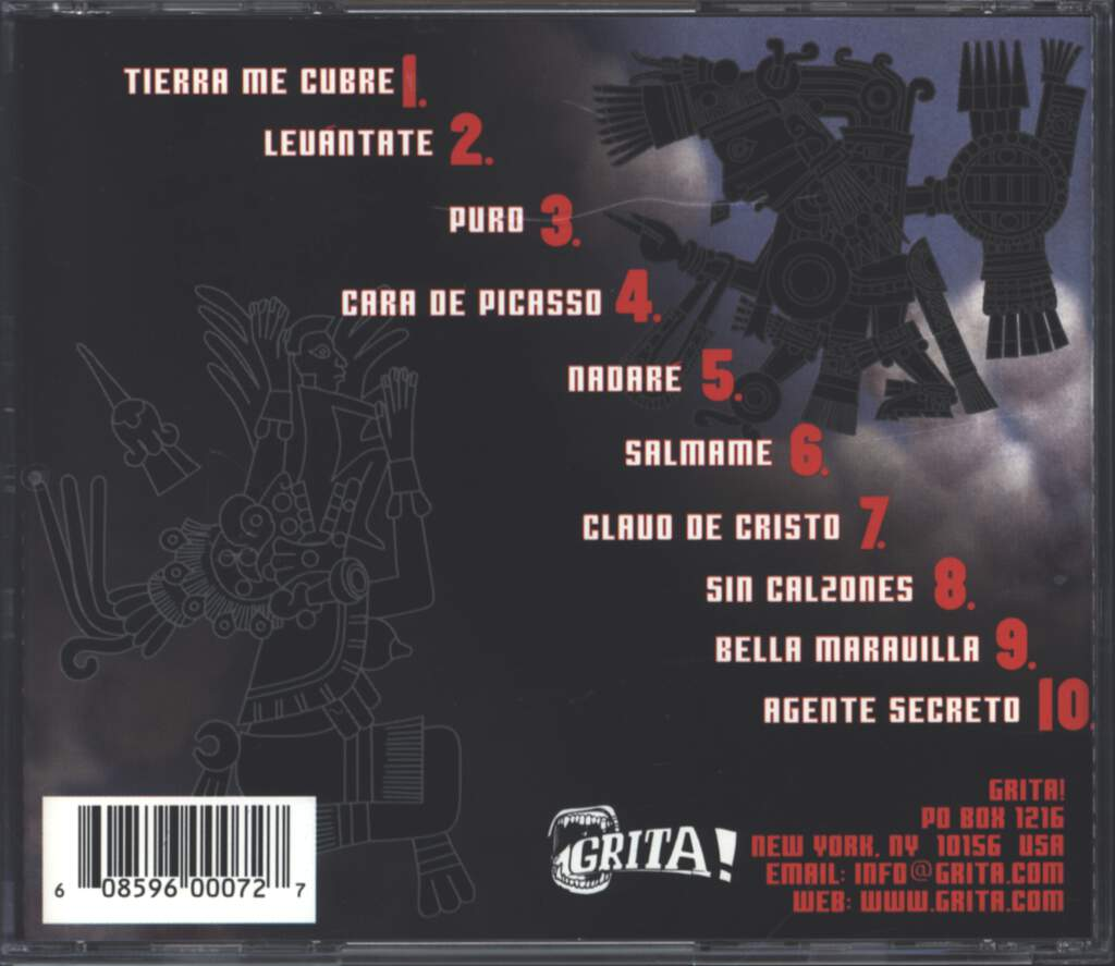 Psychotic Aztecs: Santa Sangre, CD