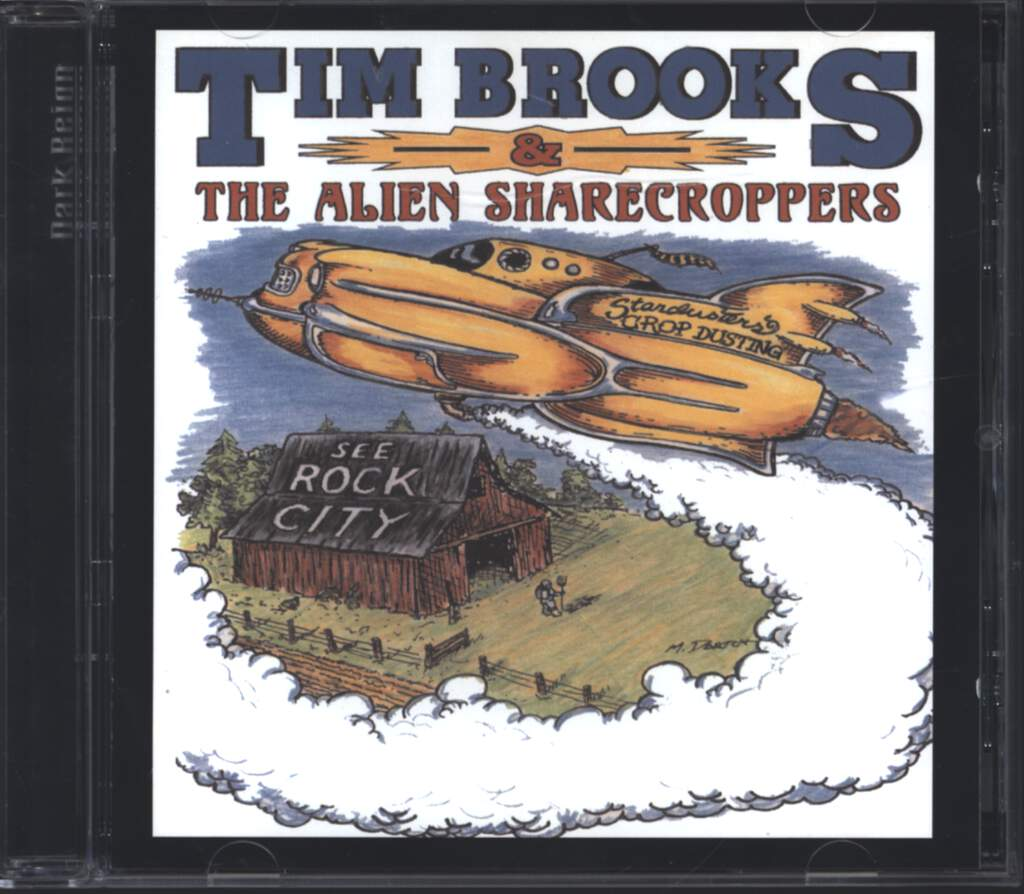 Tim Brooks & The Alien Sharecroppers: See Rock City, CD
