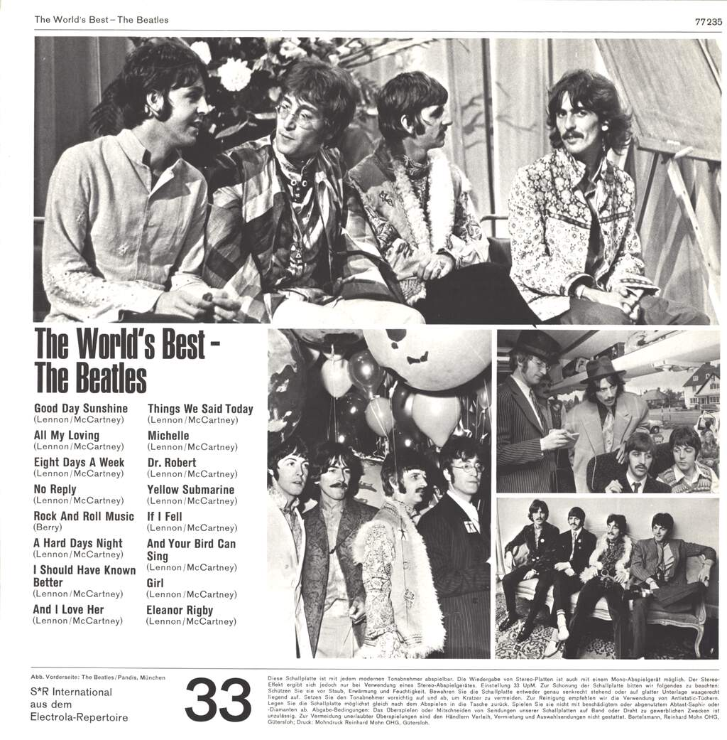 The Beatles: The World's Best, LP (Vinyl)