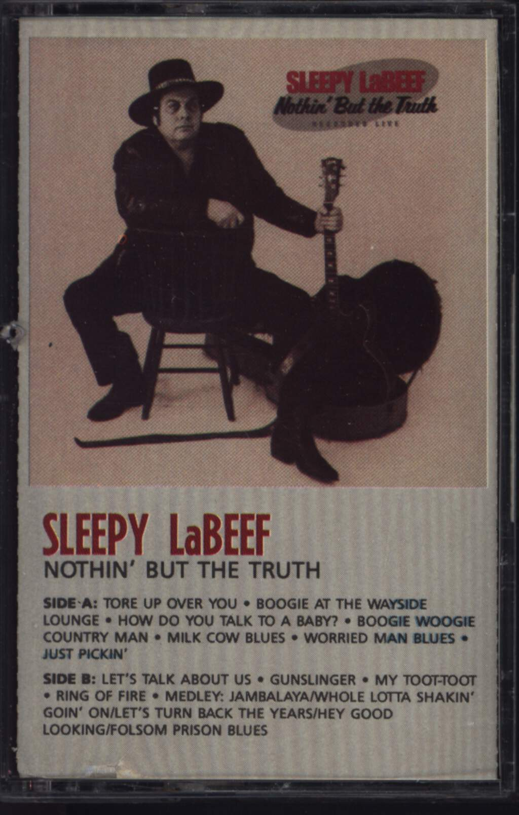 Sleepy La Beef: Nothin' But The Truth, Compact Cassette