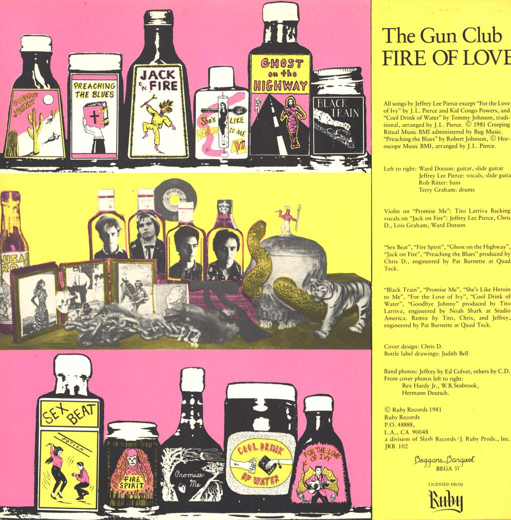 The Gun Club: Fire Of Love, LP (Vinyl)