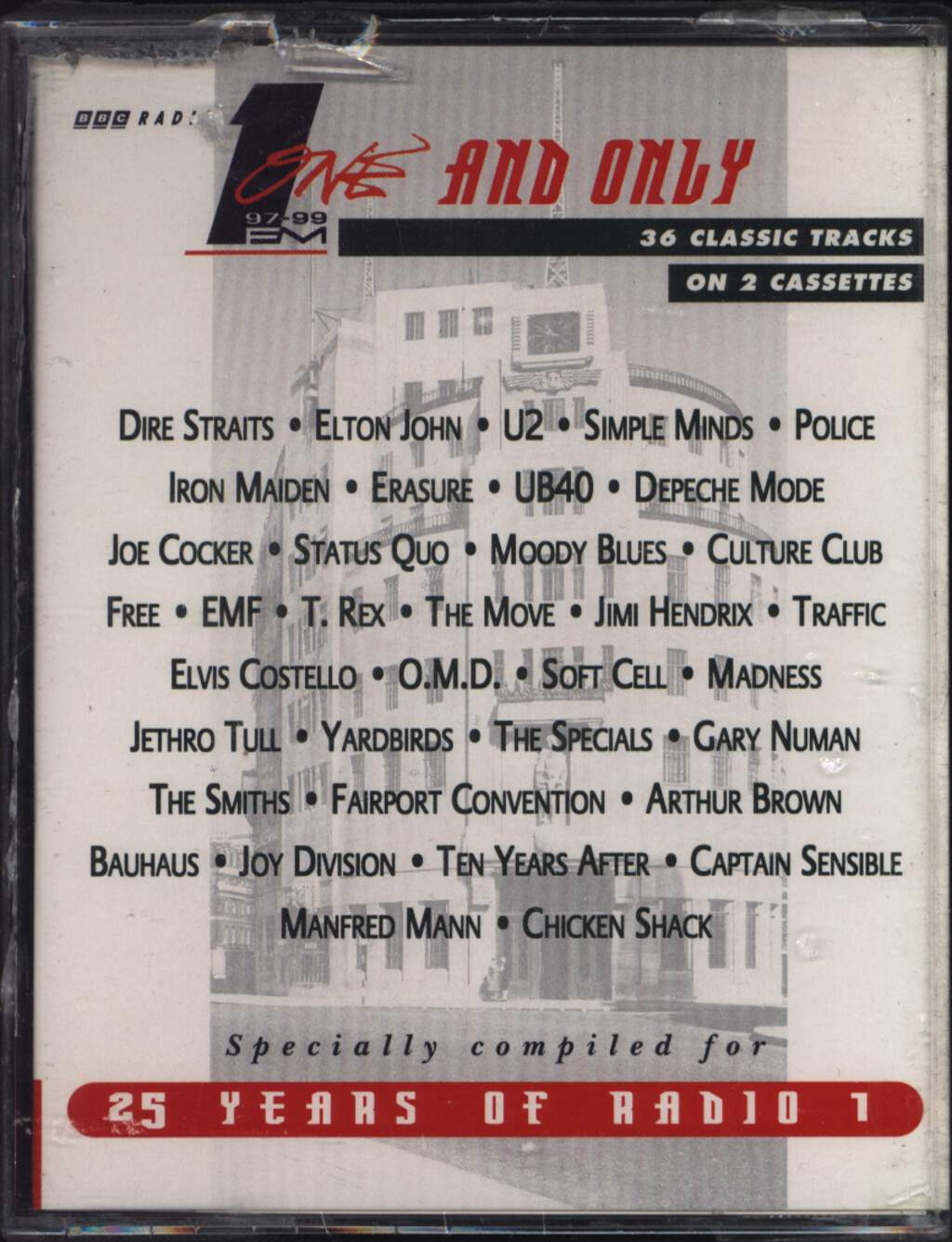 Various: 1 And Only - 25 Years Of Radio 1, 2×Tape