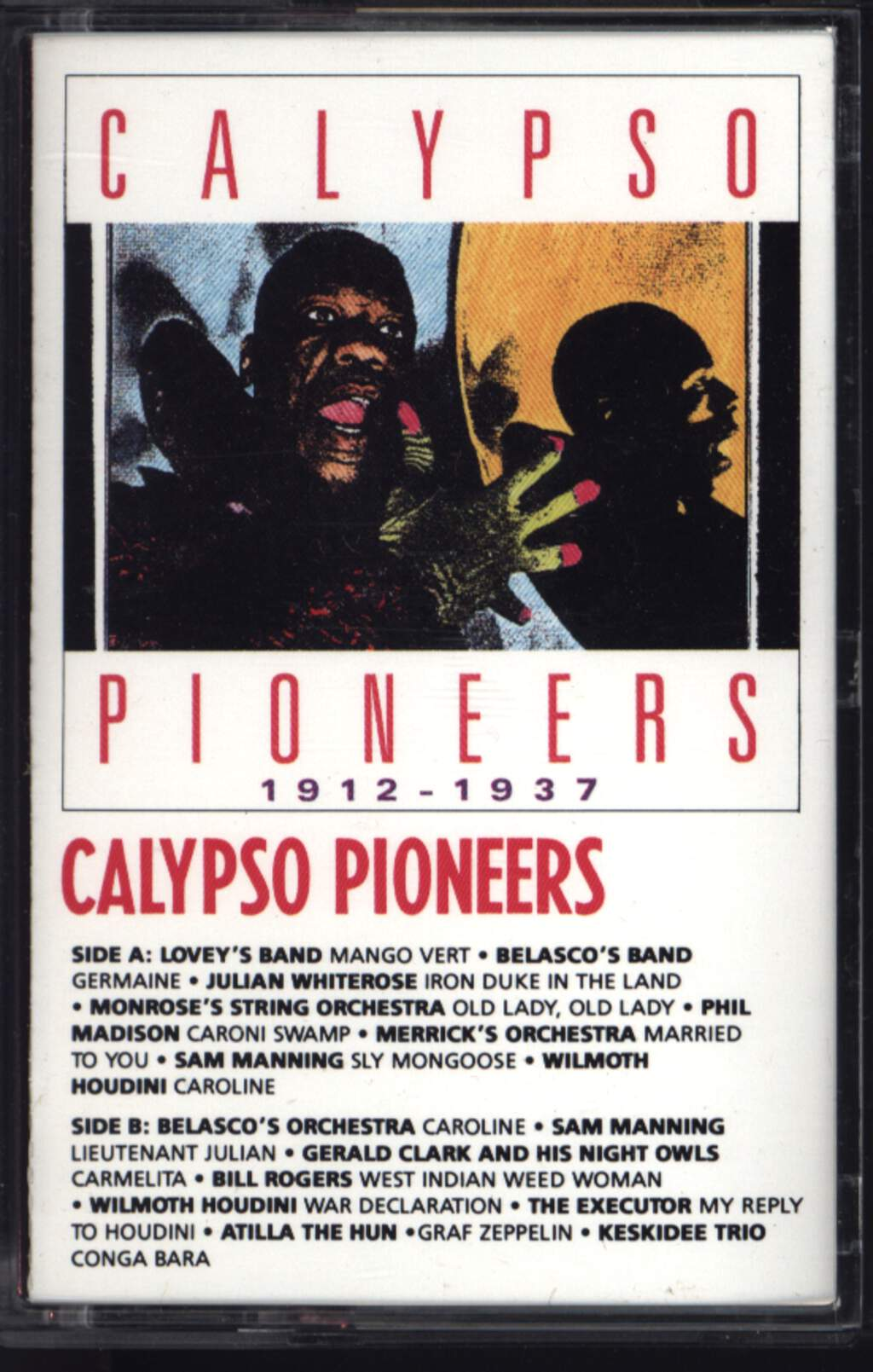 Various: Calypso Pioneers (1912-1937), Compact Cassette