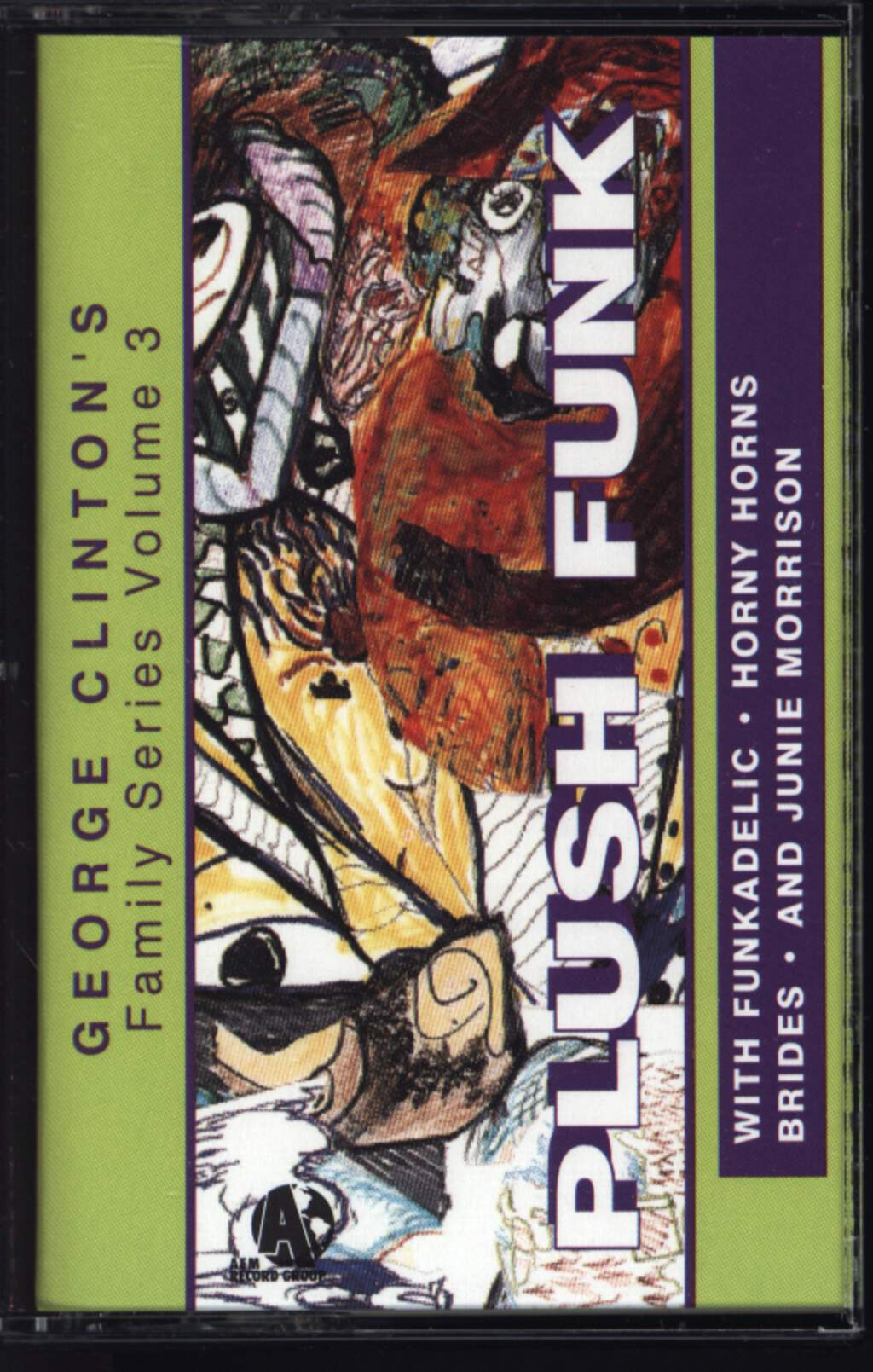 Various: George Clinton Family Series Volume 3 - Plush Funk, Compact Cassette