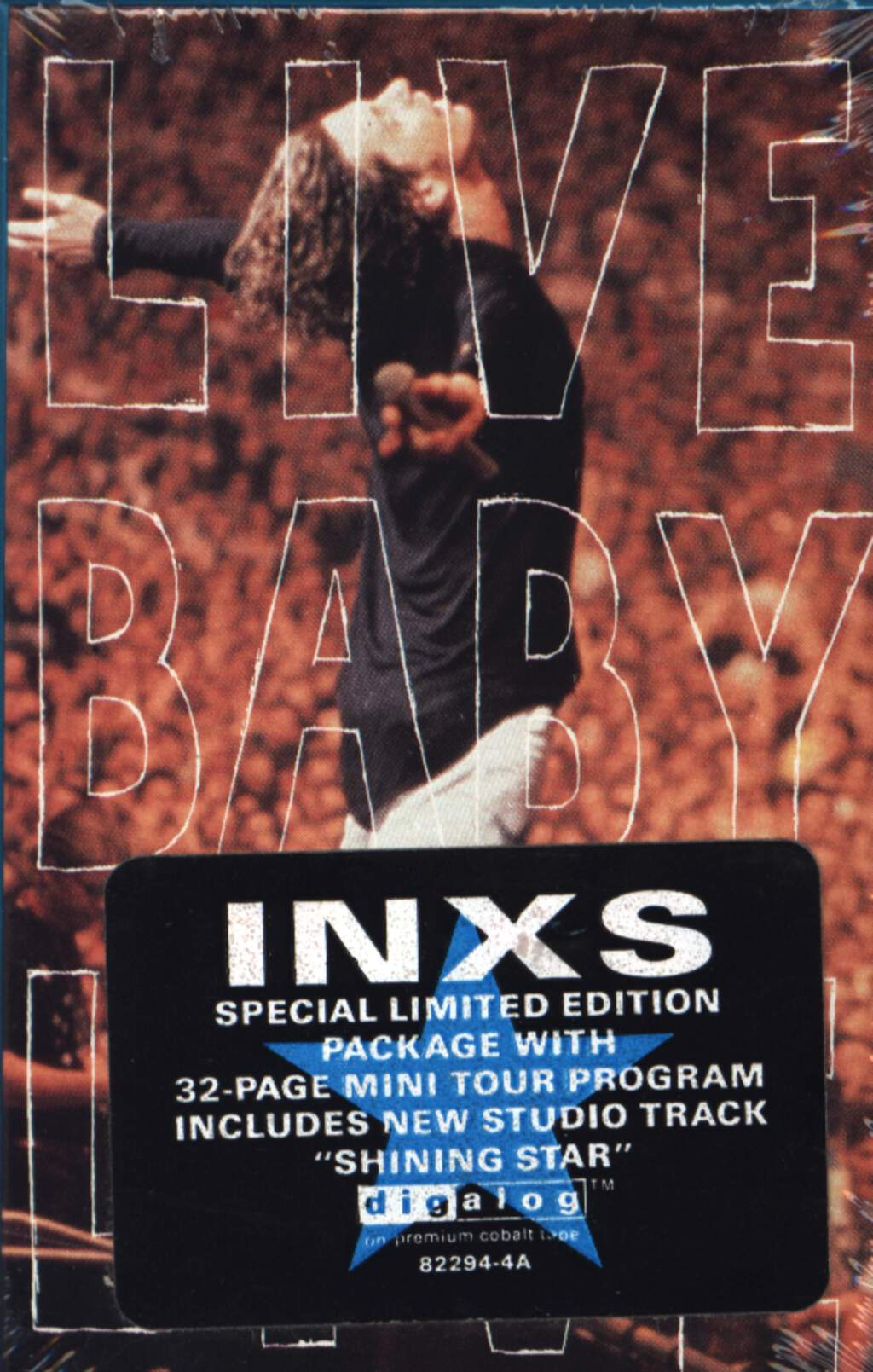 Inxs: Live Baby Live, Compact Cassette
