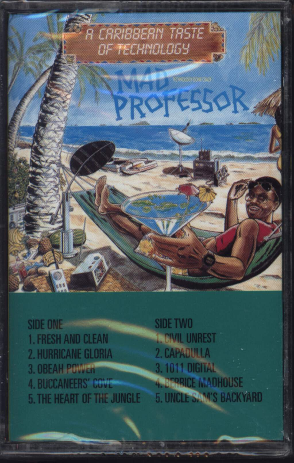Mad Professor: A Caribbean Taste Of Technology, Compact Cassette