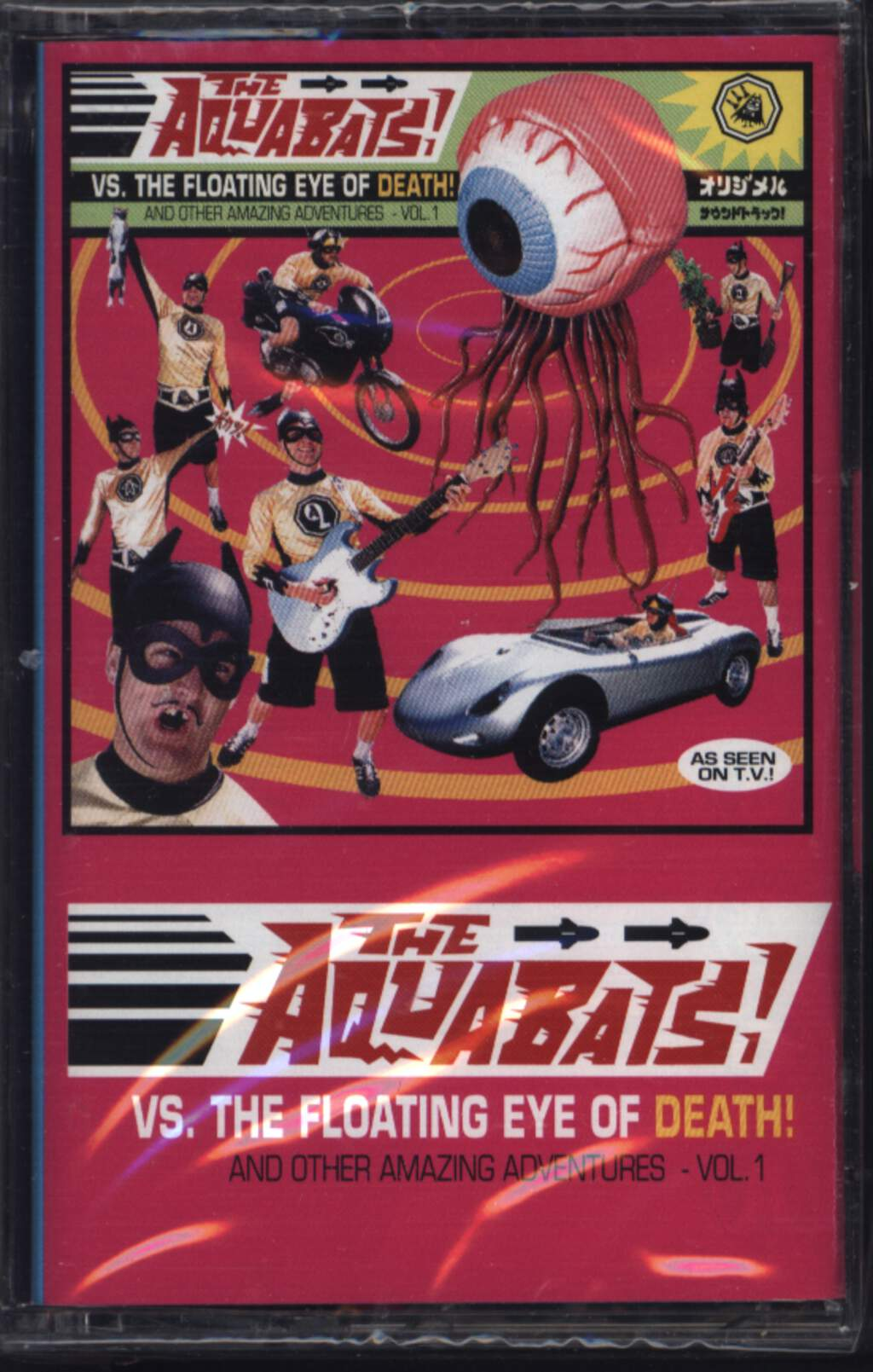 The Aquabats!: Vs. The Floating Eye Of Death! And Other Amazing Adventures - Vol. 1, Compact Cassette