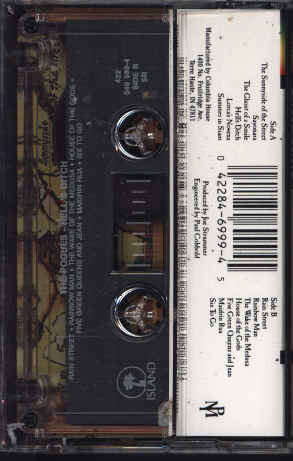 The Pogues: Hell's Ditch, Compact Cassette