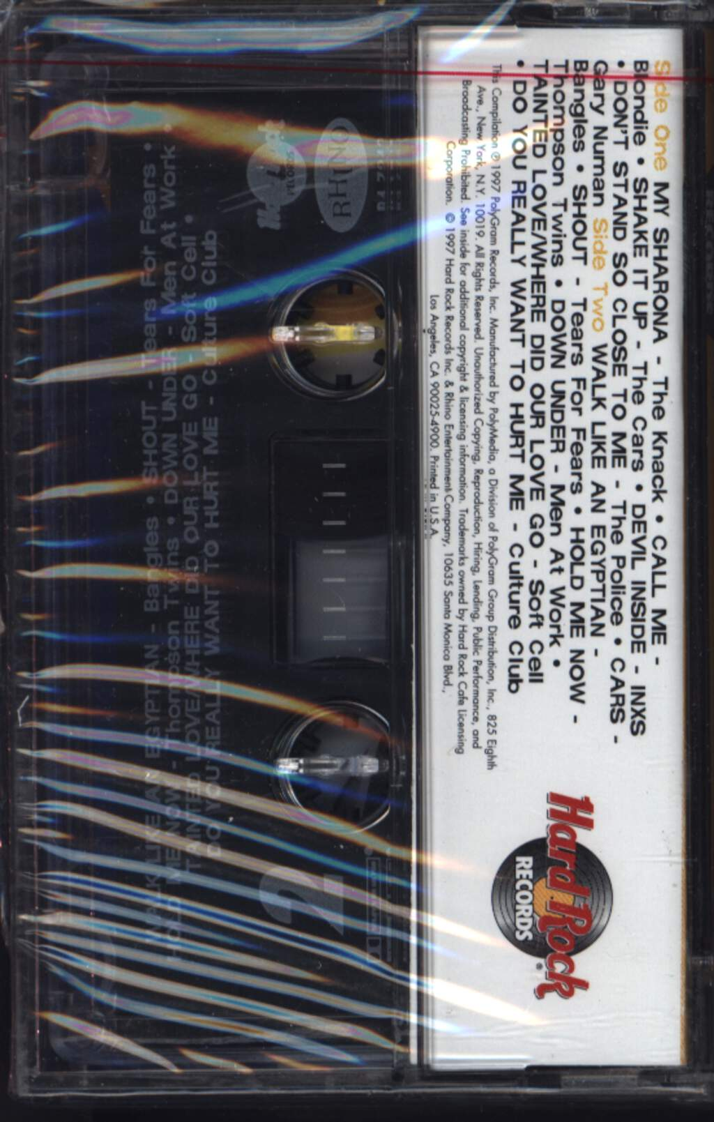 Various: Hard Rock Cafe: New Wave, Compact Cassette
