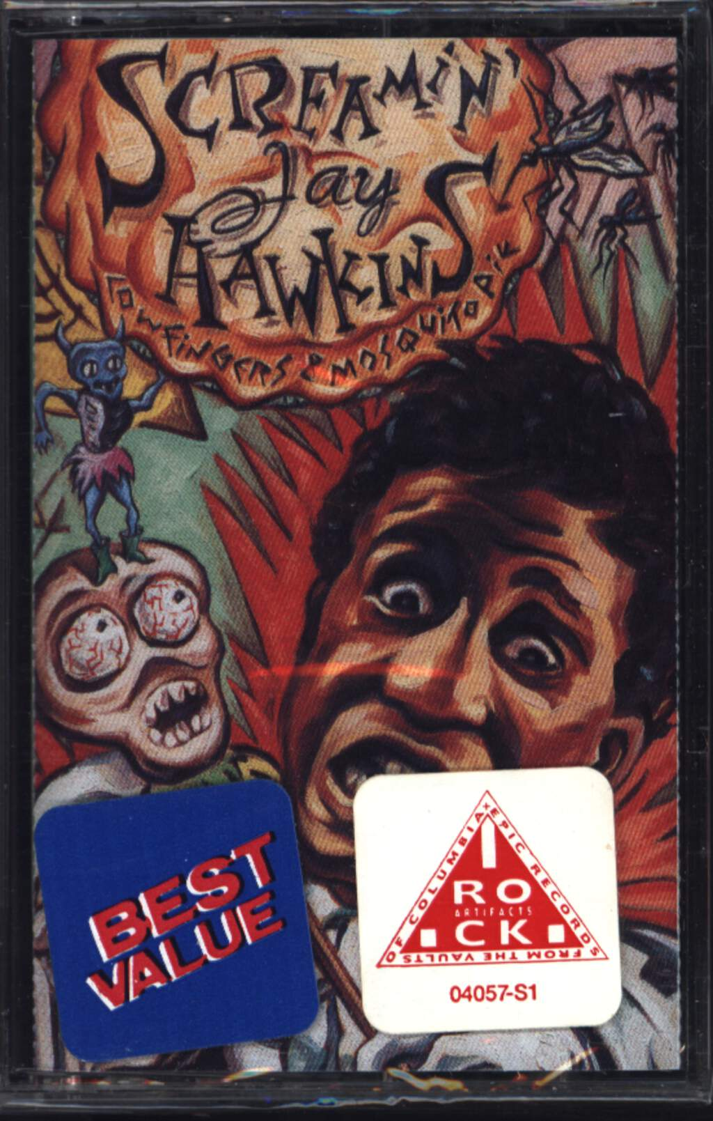 Screamin'jay Hawkins: Cow Fingers & Mosquito Pie, Compact Cassette