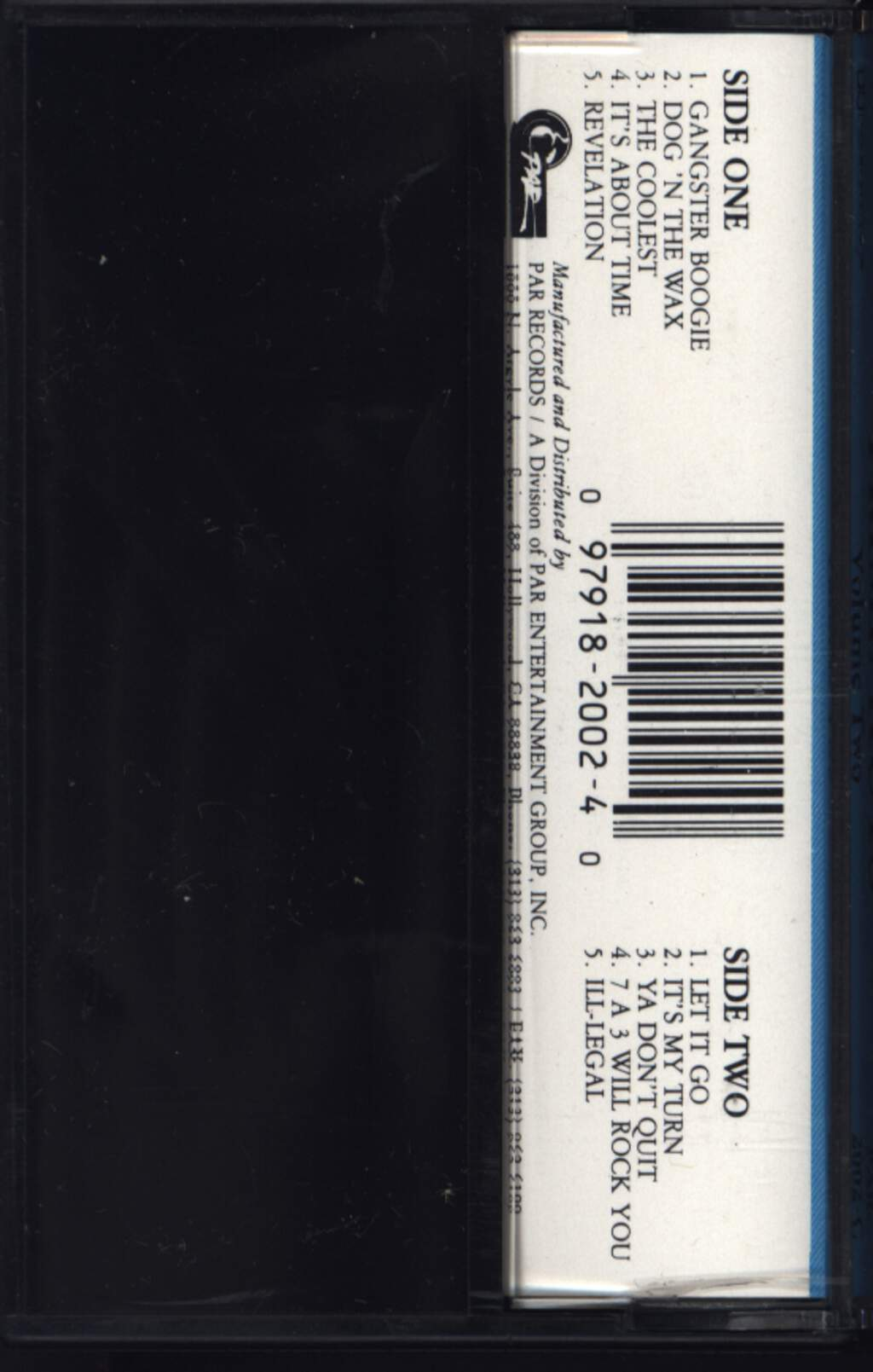 Various: Prime Kuts Volume Two, Compact Cassette