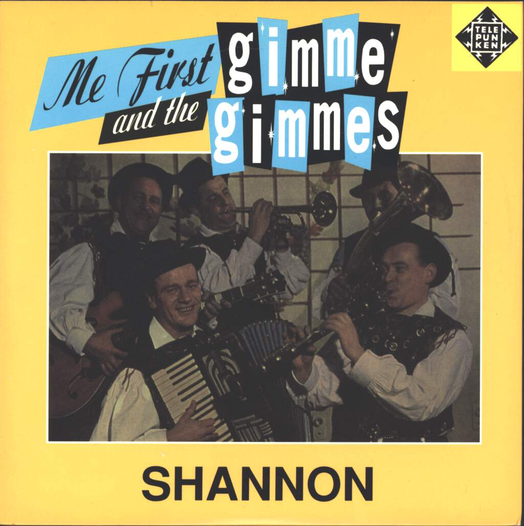"Me First & The Gimme Gimmes: Shannon, 7"" Single (Vinyl)"