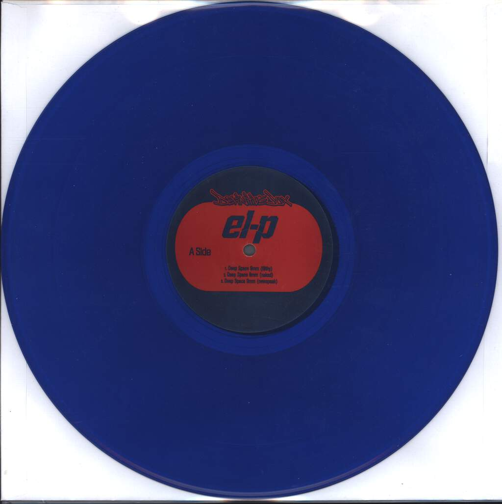 "El-P: Deep Space 9mm, 12"" Maxi Single (Vinyl)"