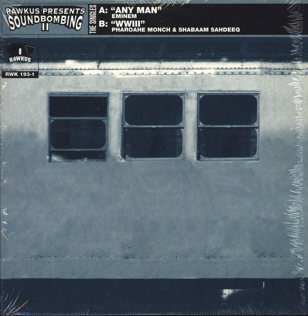 "Eminem: Any Man / WWIII, 12"" Maxi Single (Vinyl)"
