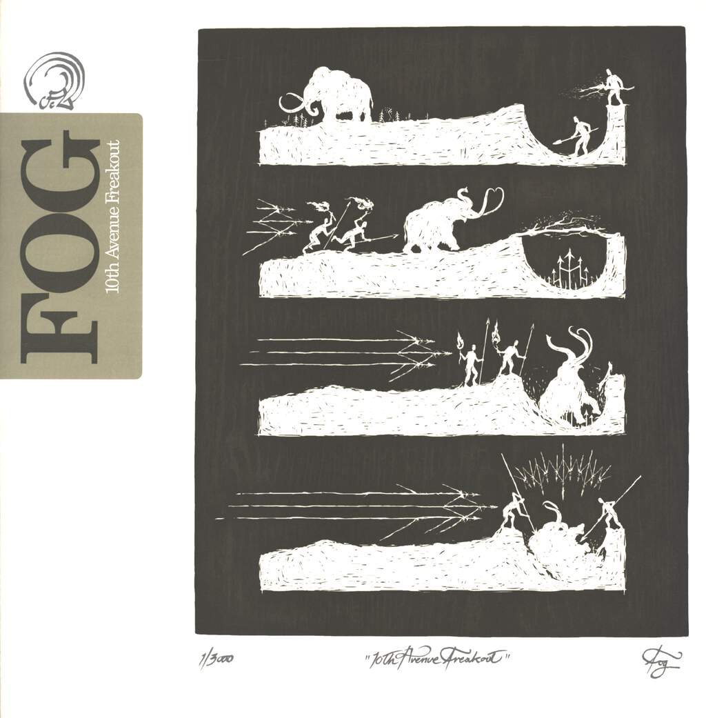 "Fog: 10th Avenue Freakout, 12"" Maxi Single (Vinyl)"