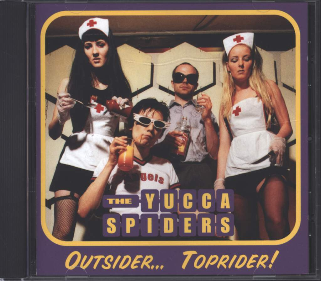 Yucca Spiders: Outsider... Toprider!, CD