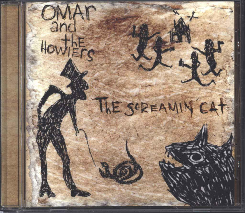 Omar And The Howlers: The Screamin' Cat, CD