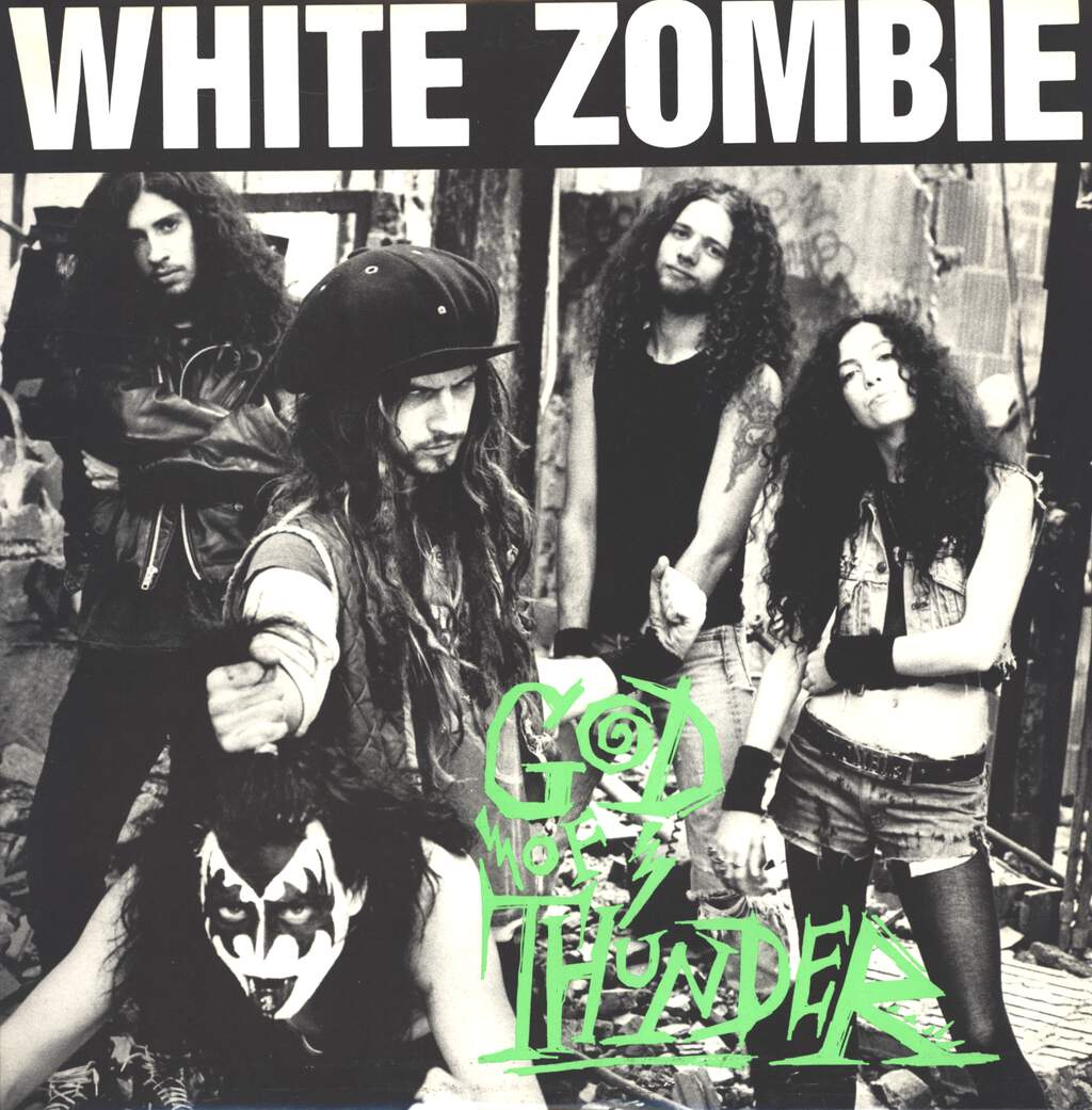 "White Zombie: God Of Thunder, 12"" Maxi Single (Vinyl)"