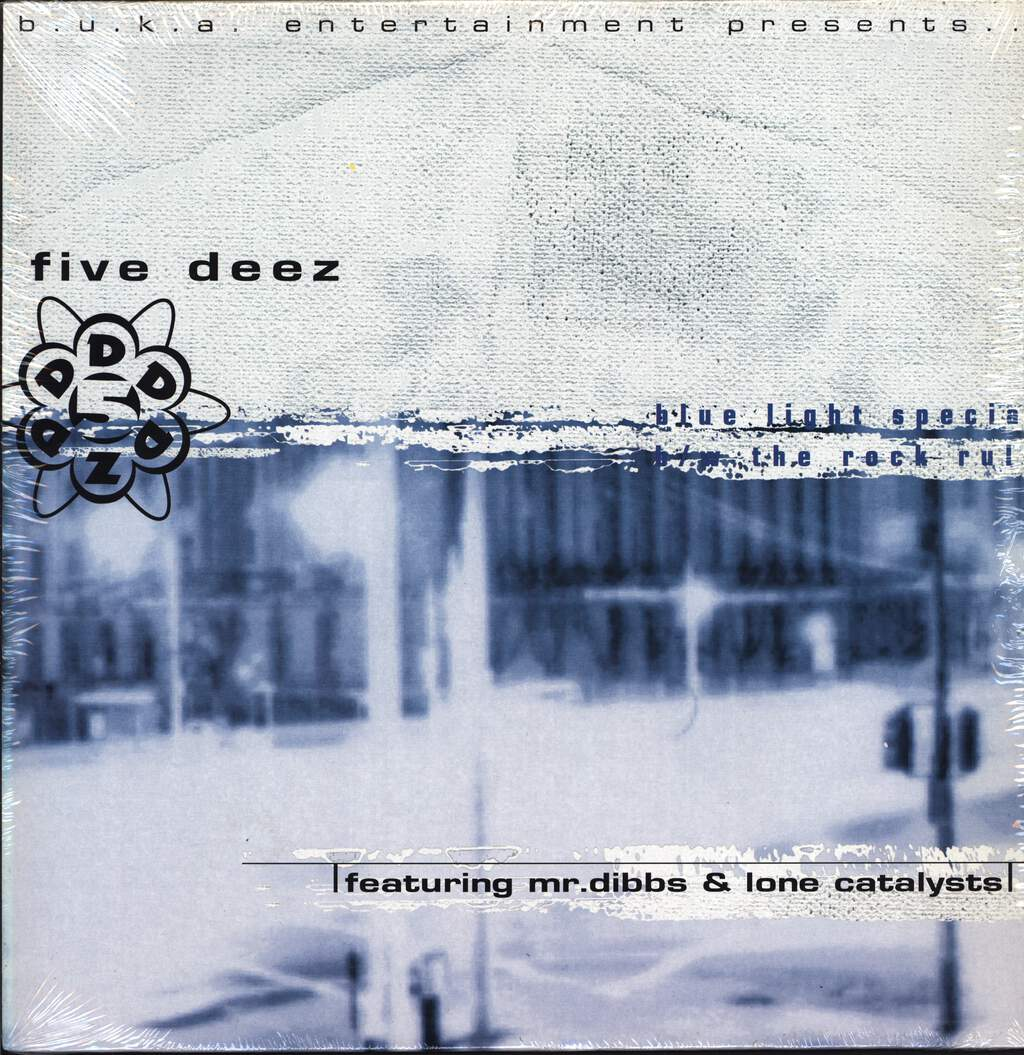 "Five Deez: Blue Light Special / The Rock Rule, 12"" Maxi Single (Vinyl)"