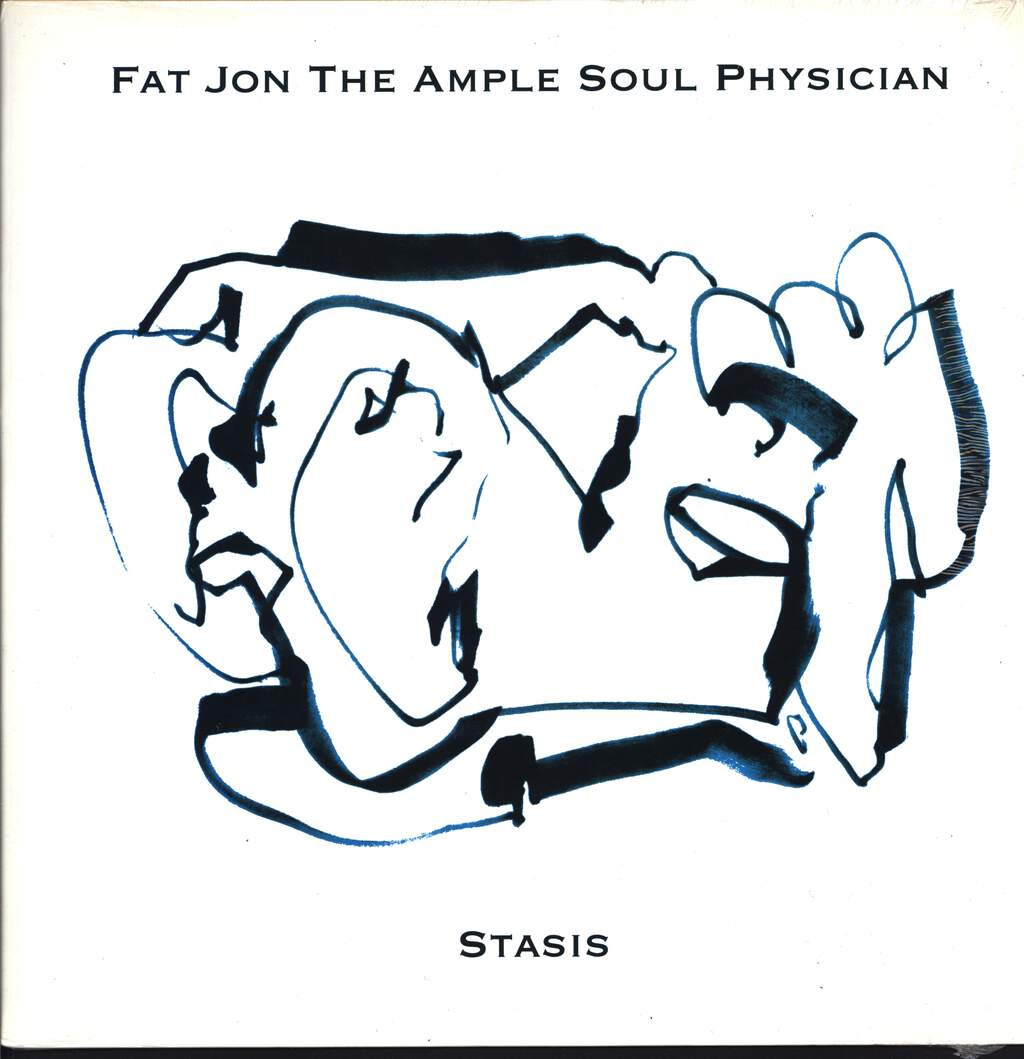"Fat Jon: Stasis, 12"" Maxi Single (Vinyl)"