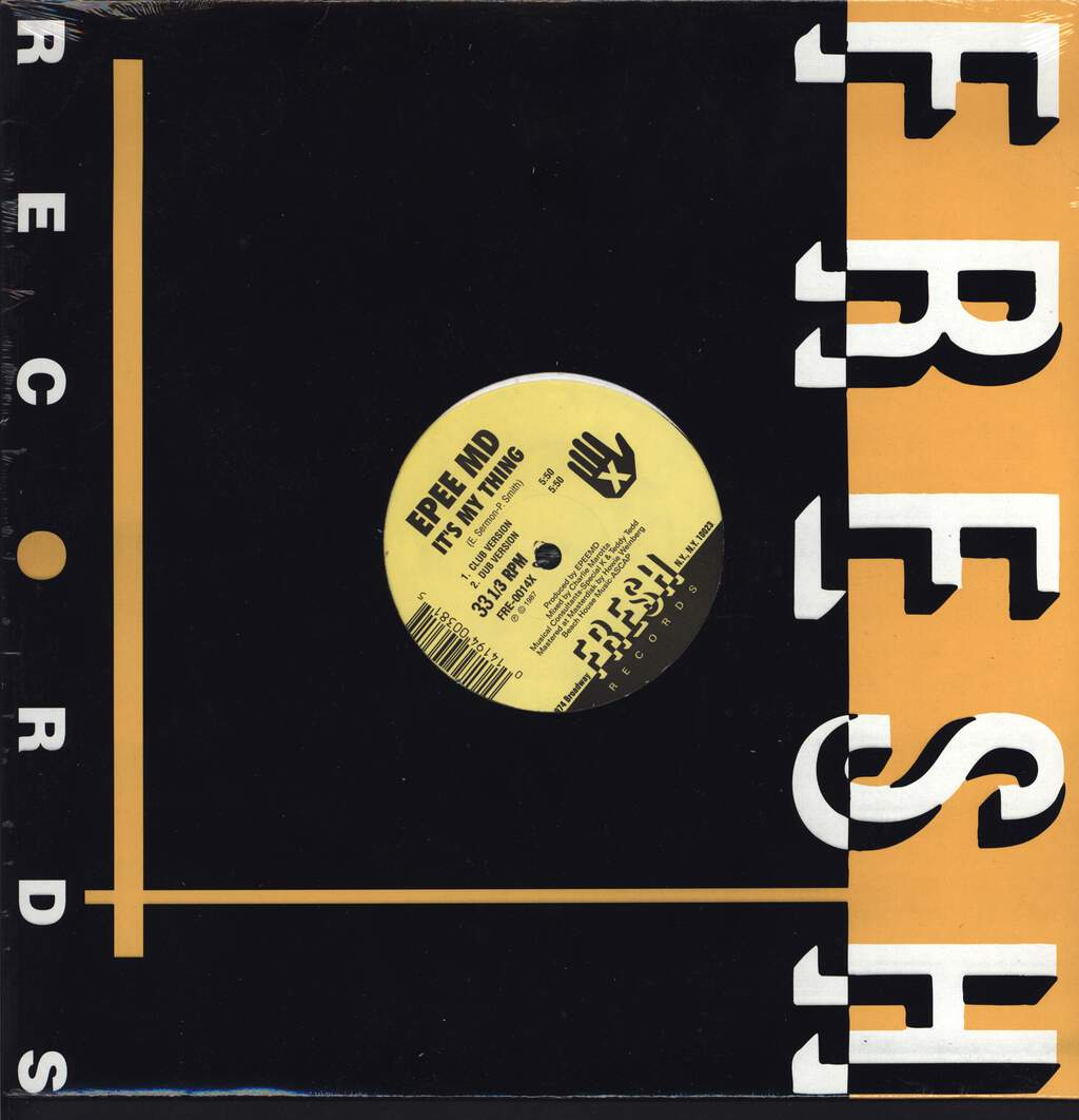 "Epmd: It's My Thing / You're A Customer, 12"" Maxi Single (Vinyl)"