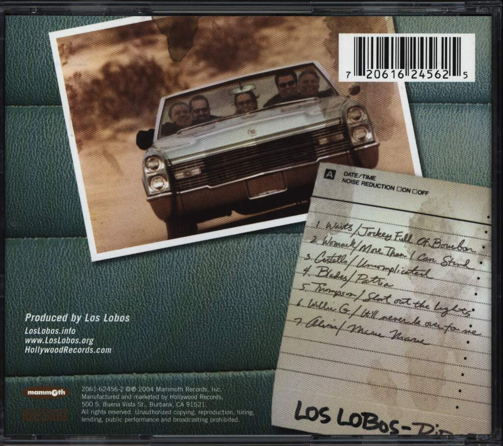 Los Lobos: Ride This - The Covers EP, Mini CD