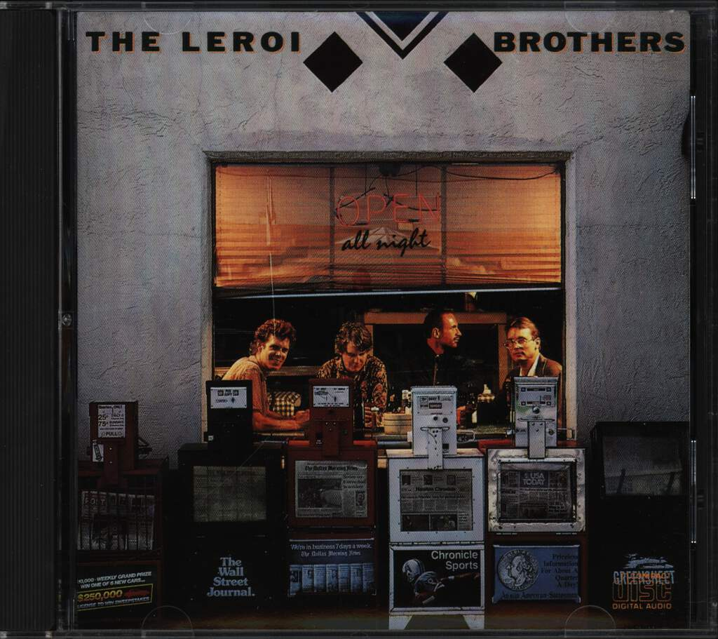 Leroi Brothers: Open All Night, CD