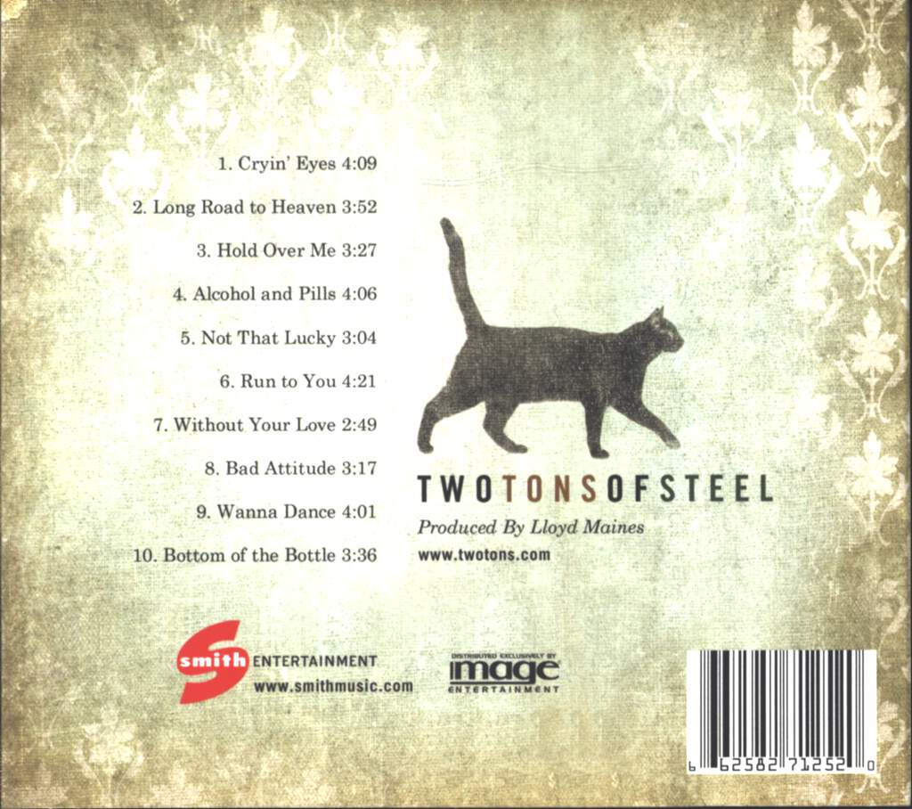 Two Tons Of Steel: Not Thatt Lucky, CD