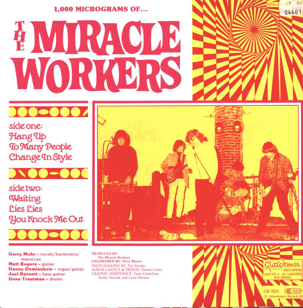 Miracle Workers: 1000 Microgramms Of The Miracle Workers, Mini LP (Vinyl)