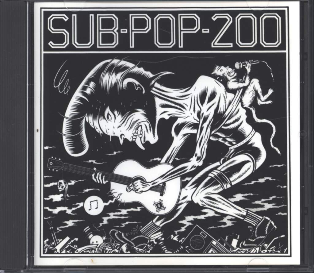 Various: Sub Pop 200, CD